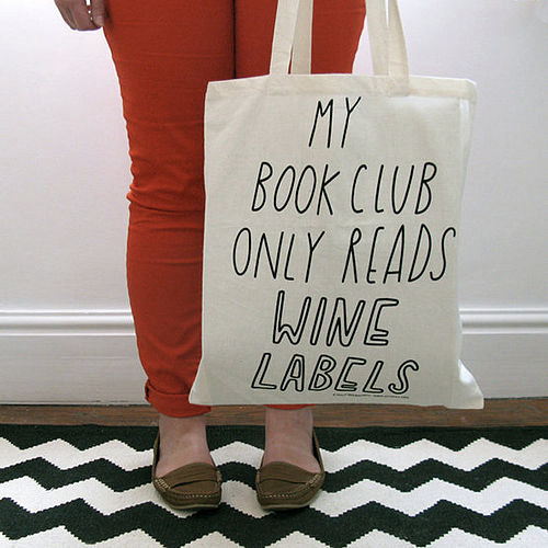 book group bag book club