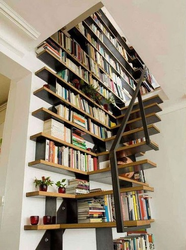 Shelves Stairs staircase to (book) heaven | booksaremyfavouriteandbest