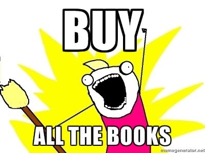 Afbeeldingsresultaat voor buy the book meme