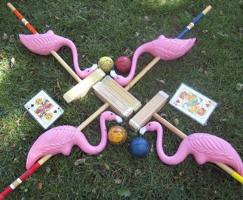 flamingo-croquet
